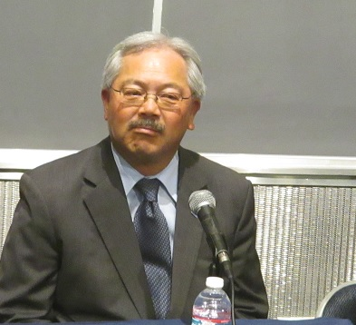 Mayor Ed Lee has left this town so divided that we have two political parties