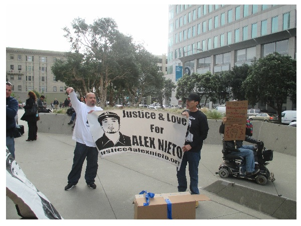 Supporters of the Nieto family have been at the trial and will be a presence until the end