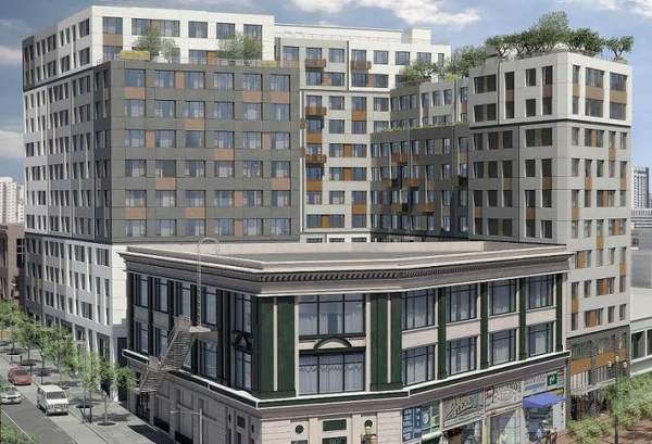 A 304-unit market-rate housing project in the Tenderloin sparked a debate over whether gentrification and displacement will reach that part of town