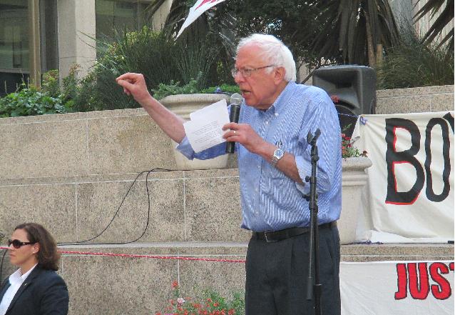 Will Sanders endorse the Reform Slate for DCCC?