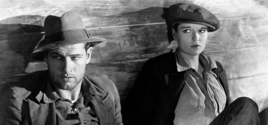 1928's Beggars of Life features Louise Brooks (r) as a cross-dressing abuse survivor who rides the rails with Richard Arlen. All photos courtesy SF Silent Film Festival