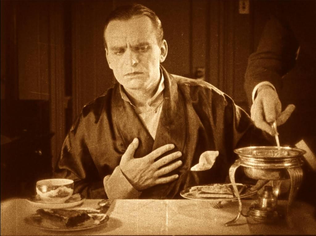 Douglas Fairbanks gives face in Photo courtesy of SF Silent Film Festival