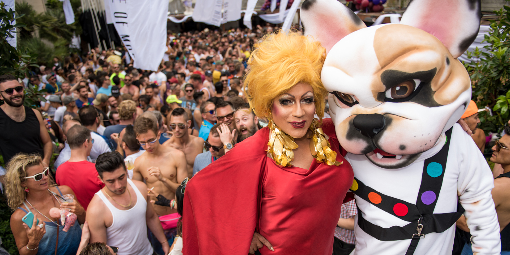 Jujanita More's Pride Party is always cute.