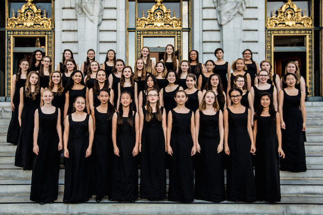 The SF Girls Chorus performs works by Philip Glass and Lisa Bielawa at Switchboard