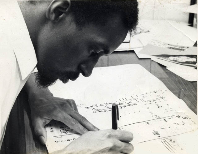 Julius Eastman's 1973 piece 'Stay On It' is one of the first minimalist works to show the influence of pop music. Written for an indeterminate ensemble, 'Stay On It' will be performed by festival artists, co-directors, and Switchboard alumni.