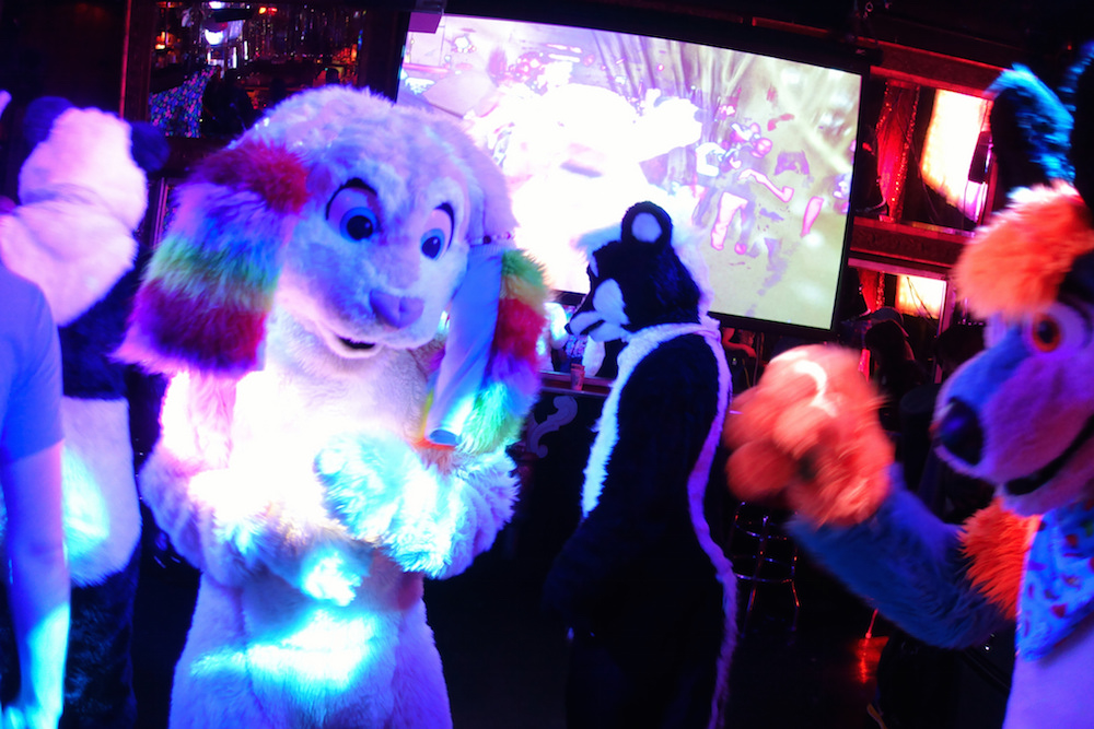 Flurries party at the monthly Frolic party at the Stud. Photo by Kory/ Leo Nardo