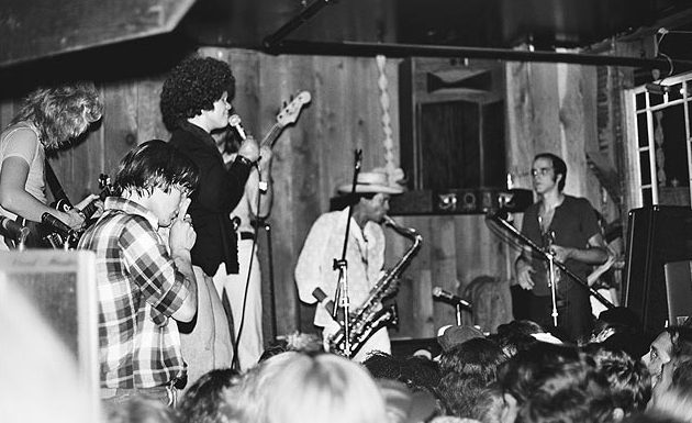 Etta james performing at the Stud's former location, where it helped magnetize the gay hippie and funk scenes.