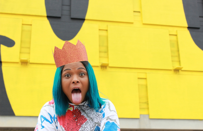 Baltimore's TT the Artist tore the house down when she played the opening of the Keith Haring exhibit at the de Young join 2014. Now she's back for the annual Bae Kiki party.