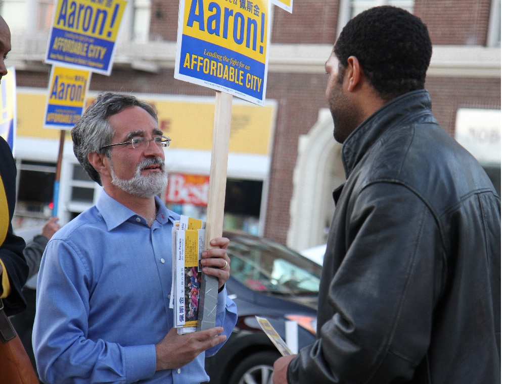 Aaron Peskin on Election Day 2015, from Company Town