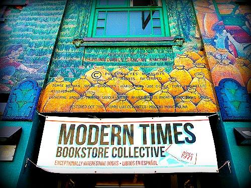"""A photo of the Modern Times facade, posted by the """"Preserving LGBT Historic Sites in California"""" Facebook group."""