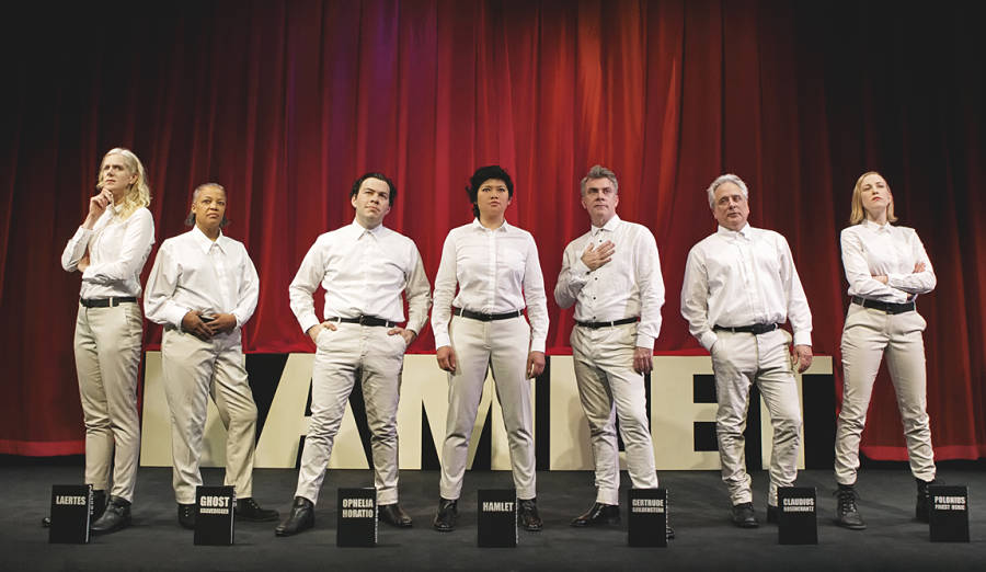 Th Shogun Players' cast of 'Hamlet,' Best Hamlet Machine