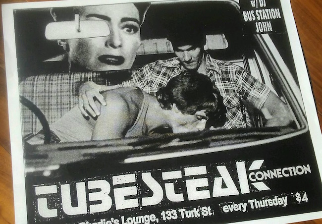 DJ BSJ's unique collaged flyers are a highlight every week.