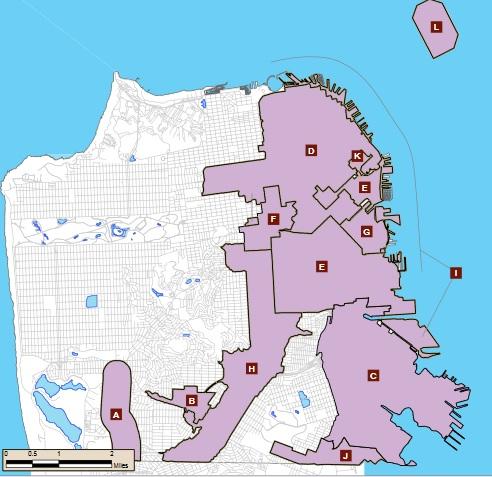 SF's Priority Development Areas
