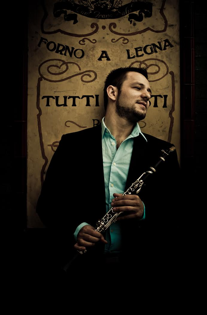 Roma clarinet luminary Ismail Lumanovski. Photo by Sefa Karatekin.