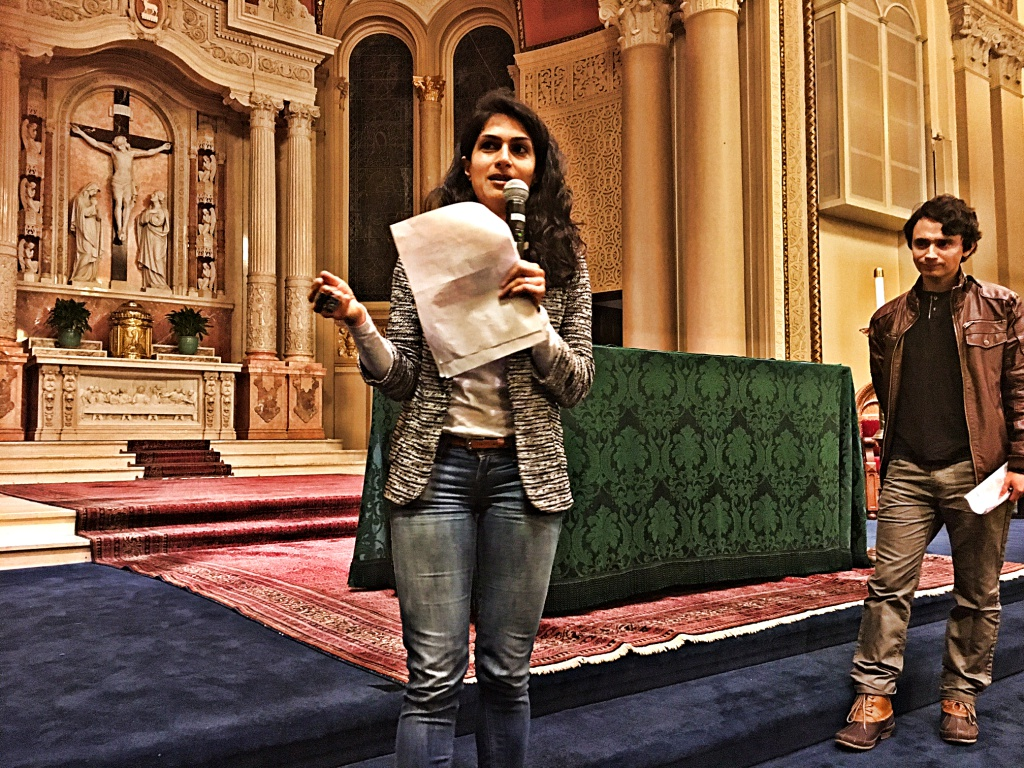 Attorneys  Nilou Khonsari and Luis Angel Reyes Savalza
