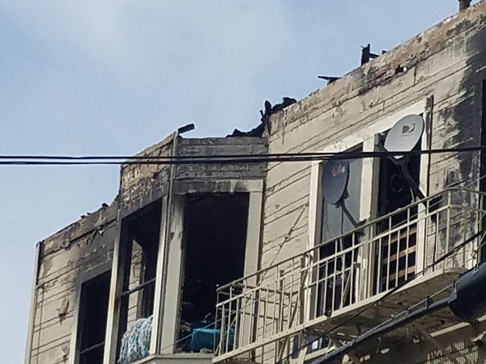 A former halfway house burned in Oakland