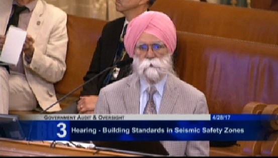 Distinguished structural engineer Hardip Pannu testifies at City Hall