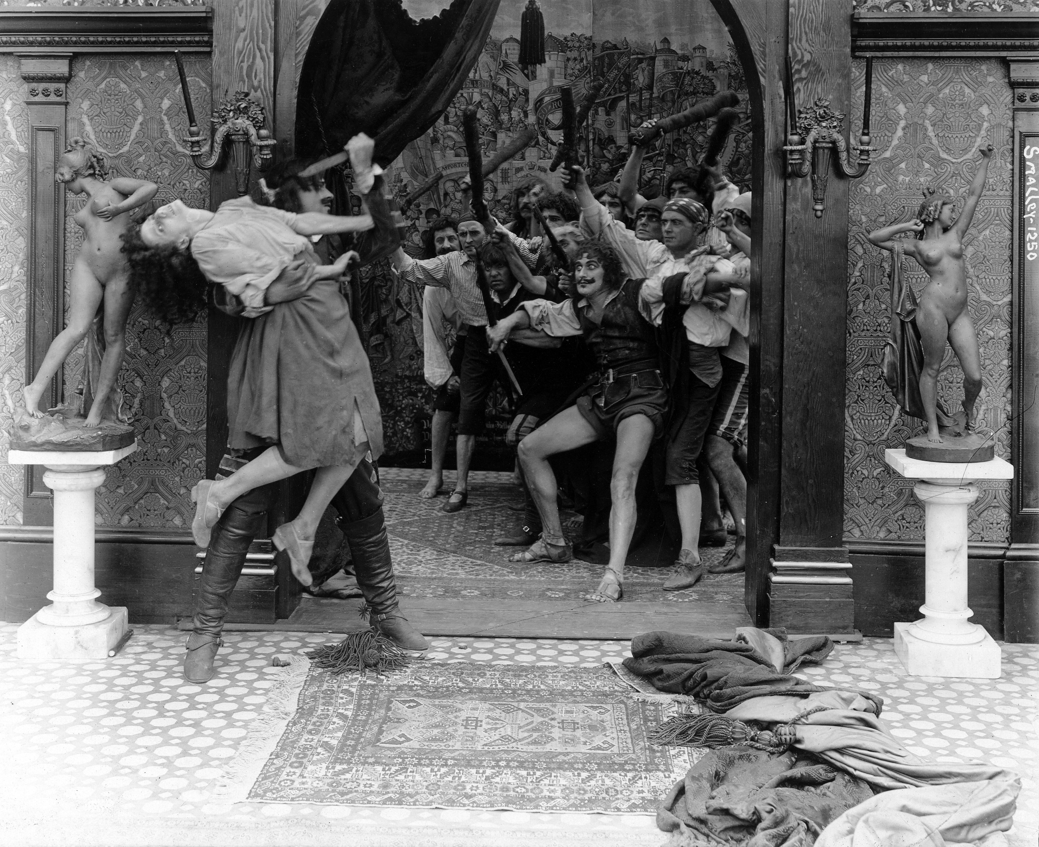 From 1916's  'The Dumb Girl of Portico' directed by Lois Weber.