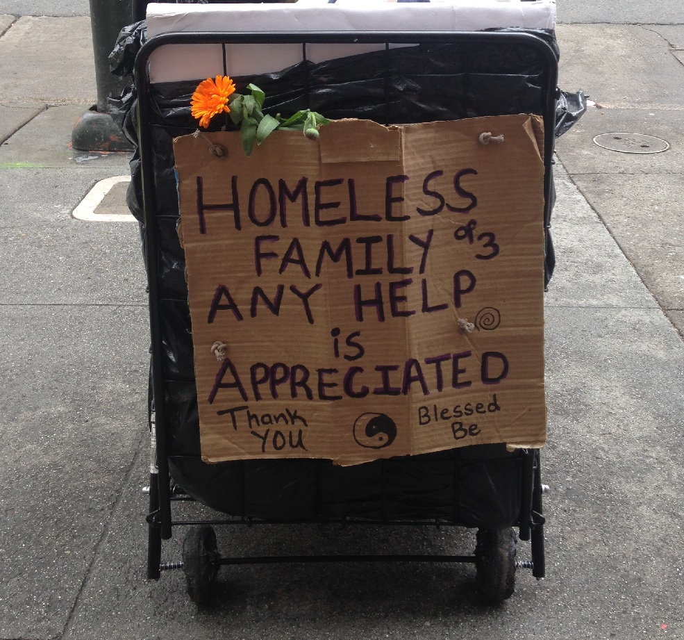 This is life for a homeless family in San Francisco