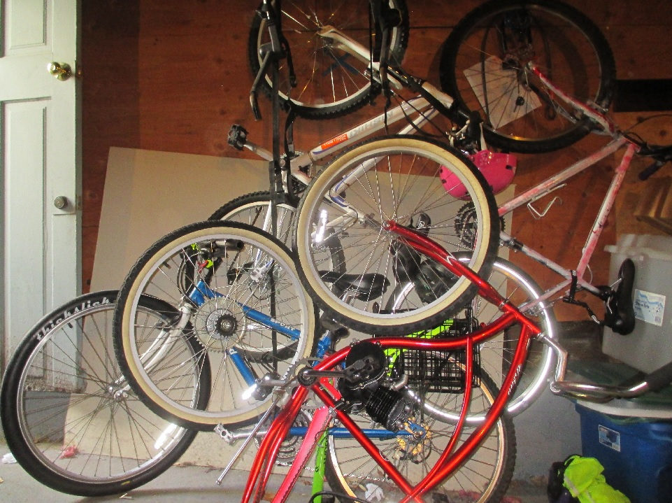 Is this a 'chop shot' -- or a bike lover's basement?