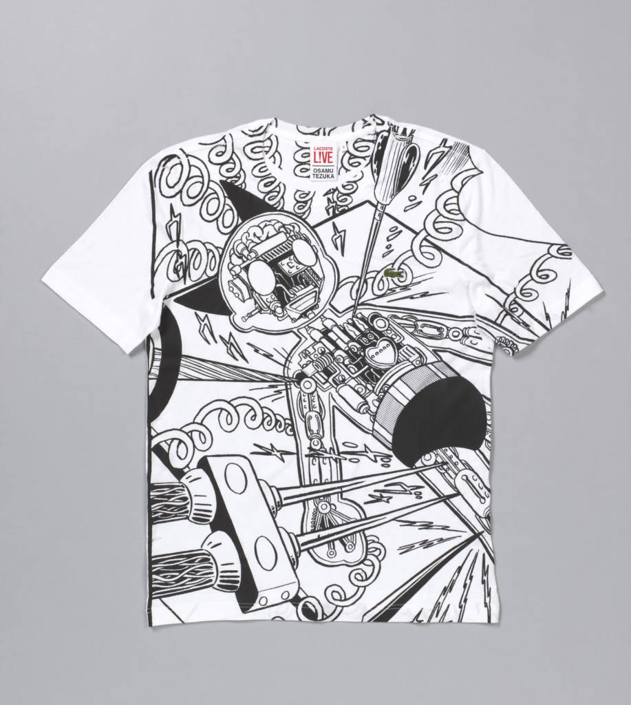 7355cc6da0 T-shirt, from the capsule collection, Autumn/Winter 2013, by Hiroaki Ohya  (Japanese, b. 1970) for Lacoste. Cotton jersey with printing.